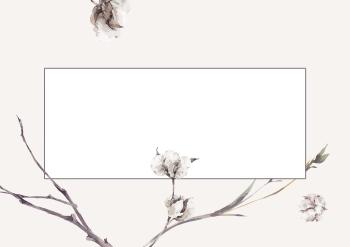 cotton & branches - 2