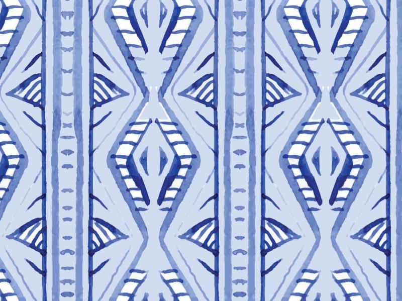 Blue Patterns - 1