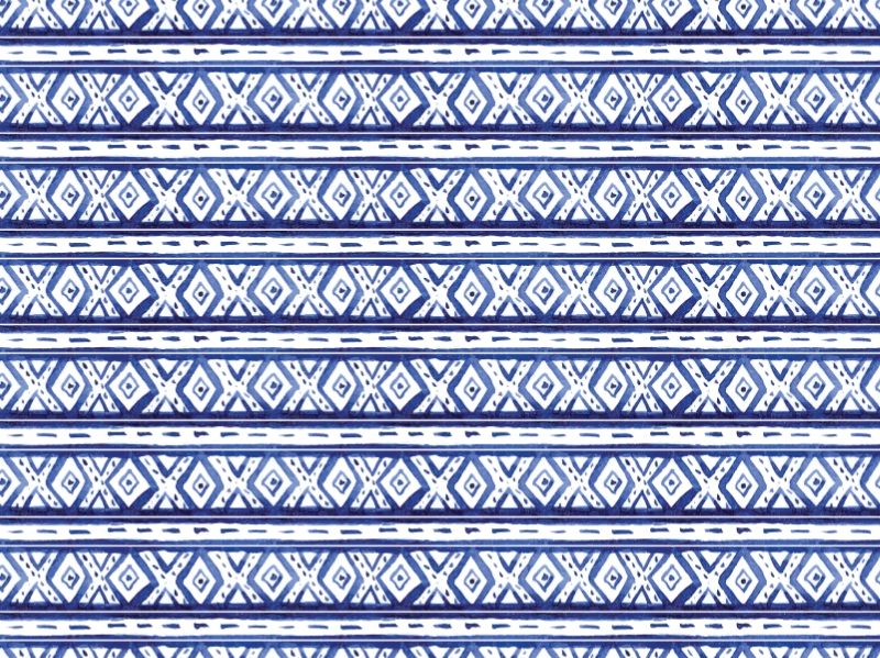 Blue Patterns - 2