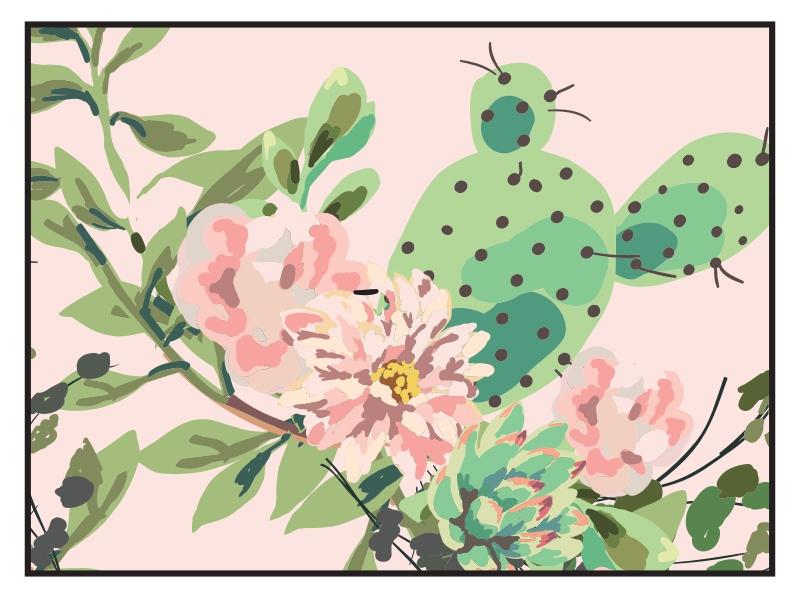 Pink Cactus - 3