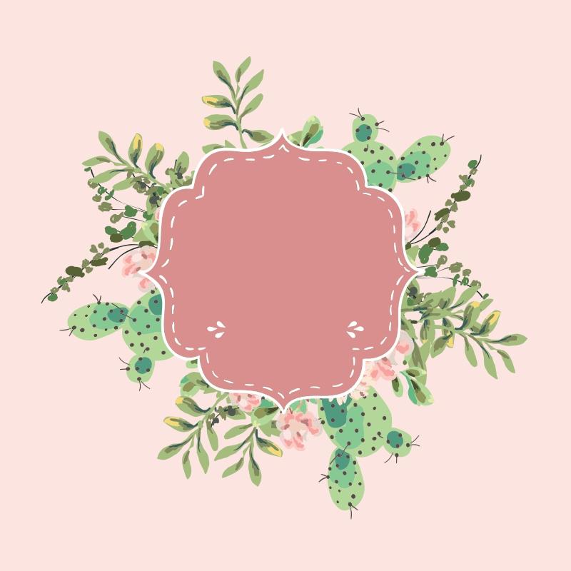 Pink Cactus - 1